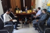 مديرا  نيابة غزة الأولي والثانية  يستقبلان مدير الشؤن القانونية بسلطة الأراضي ويبحثان تعزيز حماية المال العام ومقدرات الدولة