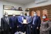 النائب العام، يكرم الاستاذ/عصام يونس، لحصوله على الجائزة الفرنسية الألمانية لحقوق الإنسان وسيادة القانون للعام 2020