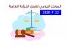 الموجز اليومي لإجراءات النيابة العامة لتحقيق الأمن والاستقرار المجتمعي 23/9/2020