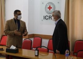 النائب العام يناقش، مع رئيس بعثة الصليب الأحمر، ضمانات وظروف احتجاز النزلاء في ظل جائحة كورونا