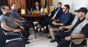 مدير نيابة غزة الاولي نفتخر ونعتز بطاقات شبابنا في المعمل الجنائي وهندسة المتفجرات