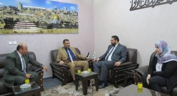 خلال زيارته لديوان النائب العام نائب نقيب المحامين يبحث مع النائب العام سبل التعاون والشراكة