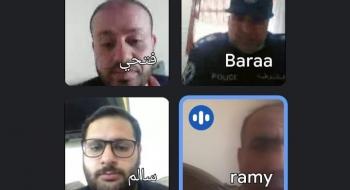 مدير نيابة غزة الثانية  ونائب مدير المباحث العامة بالمحافظة يشددان على تكاتف الجهود الحكومية للقضاء على جريمة التسول