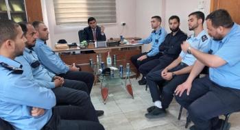 نيابة خانيونس الجزئية  تعقد دورة مهارات وفنون التحقيق الجنائي لمركز شرطة خانيونس