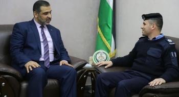 النائب العام يؤكد خلال اجتماعه مع الشرطة القضائية في محافظة غزة على حسن استقبال الجمهور