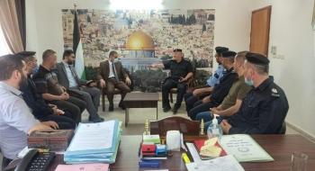 مدير نيابة شمال غزة ومدير شرطة جباليا يؤكدان  النهوض بجودة التحقيقات وتجسيد قيم العدالة