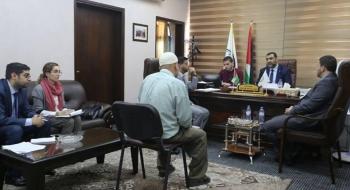 النائب العام يستقبل وفدا من اللجنة الدولية للصليب الاحمر