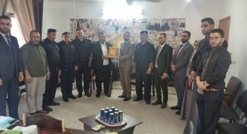 مدير نيابة شمال غزة   يستقبل مدير شرطة المحافظة و مجلس قيادة الشرطة