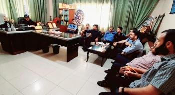 نيابة غزة الأولي  تختتم دورة مهارات وفنون التحقيق الجنائي لمركز شرطة الدرج