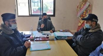 نيابة شمال غزة تعقد دورة عن مهارات وفنون التحقيق الجنائي لمركز شرطة بيت حانون