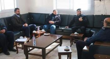 رئيس نيابة خانيونس ومدير شرطة المحافظة يؤكدان على ترسيخ العدالة وإرساء الاستقرار المجتمعي