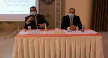 عقد جلسة لتقييم سلسلة من الدورات التي نفذتها الهيئة المستقلة لحقوق الإنسان بالتعاون مع النيابة العامة