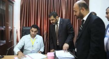 خلال تفقده لنيابات غزة النائب العام: توحيد آليات العمل وإعادة هندسة العمليات الإدارية للنيابات يسهم بالارتقاء بمؤسسات القضاء