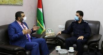 النائب العام يستقبل مدير الشرطة القضائية في مكتبه لتعزيز تيسير الخدمات العدلية