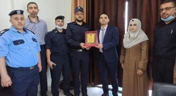 مدير نيابة غزة الاولي يؤكد ان  الاستقرار المجتمعي وتحقيق الامن، الهدف الاسمي لمنظومة العدالة الجنائية*