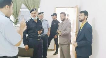 مدير نيابة خانيونس يلتقي بمدير شرطة القرارة ويؤكد على تعزيز التعاون الاجرائي لترسيخ العدالة