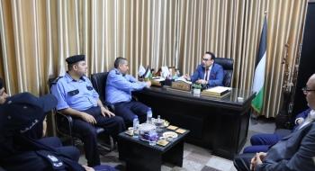 نيابة تنفيذ الأحكام وديوان المظالم بالشرطة الفلسطينية يؤكدان على تعزيز ثقة المواطن بمنظومة العدالة