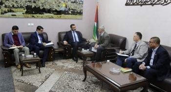 النائب العام يستقبل رئيس اللجنة الدولية للصليب الأحمر