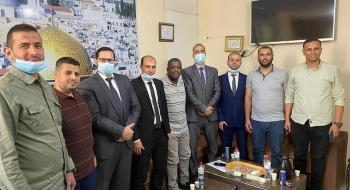 مدير  نيابة غزة  الثانية يشيد بأداء المباحث العامة في سرعة الوصول إلى الجناة و تقديمهم للعدالة