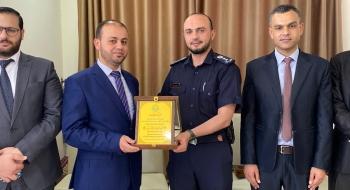 مدير نيابة غزة الثانية ومدير شرطة الرمال يؤكدان  النهوض بجودة التحقيقات وتجسيد قيم العدالة*