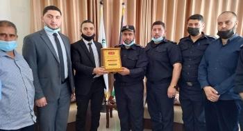 مدير نيابة غزة الدائرة الأولي و مدير شرطة الزيتون يؤكدان على تعزيز الأمن والاستقرار المجتمعي وارساء العدالة*