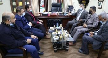 النائب العام ورئيس بلدية رفح يؤكدان على تعزيز التعاون المشترك لتحقيق المصلحة العامة وخدمة الجمهور