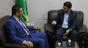 النائب العام يستقبل رئيس بلدية جباليا النزلة ويؤكد على التعاون لتحقيق المصلحة العامة وخدمة الجمهور