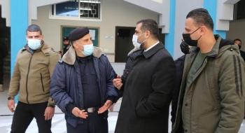 النائب العام يقوم بزيارة تفقدية لمركز شرطة الشيخ رضوان