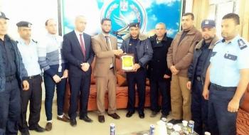 مدير نيابة رفح يؤكد على دور شرطة المرور في حماية أمن المجتمع