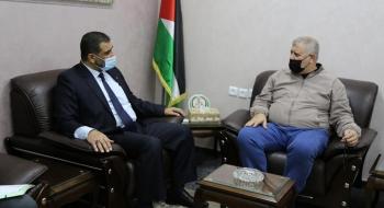 النائب العام وقيادة حركة الجهاد الإسلامي يؤكدون على تمتين الجبهة الداخلية وتعزيز السلم الأهلي