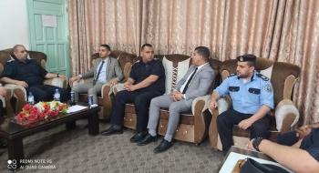 المستشار عبدو الزيارات التفقدية للمراكز الشرطية تعزز جودة الخدمات القضائية مع الشركاء