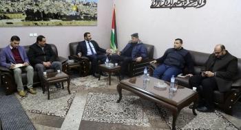 النائب العام يجتمع بقيادة الشرطة الفلسطينية في مكتبه