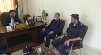 رئيس نيابة غزة الكلية يستقبل مدير شرطة بلدية غزة ويؤكدان على تعزيز حماية المستهلك ومكافحة الجرائم الاقتصادية