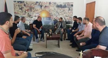 مدير نيابة شمال غزة ومدير مكافحة المخدرات يؤكدان علي تضافر الجهود لملاحقة آفة المخدرات أمنياً وقضائياً ومجتمعياً وتوعوياً.