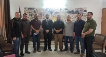 نيابة شمال غزة وإدارة المباحث العامة يناقشان آليات تطوير أساليب التحرّي وجمع الاستدلالات في تعقب الجريمة