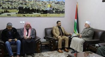 النيابة العامة تؤكد على الشراكة مع رابطة علماء فلسطين لتحقيق الاستقرار المجتمعي