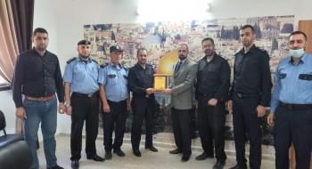 خلال اجتماعه بادارة الشرطة القضائية مدير نيابة شمال غزة يؤكد على حسن استقبال جمهور المواطنين
