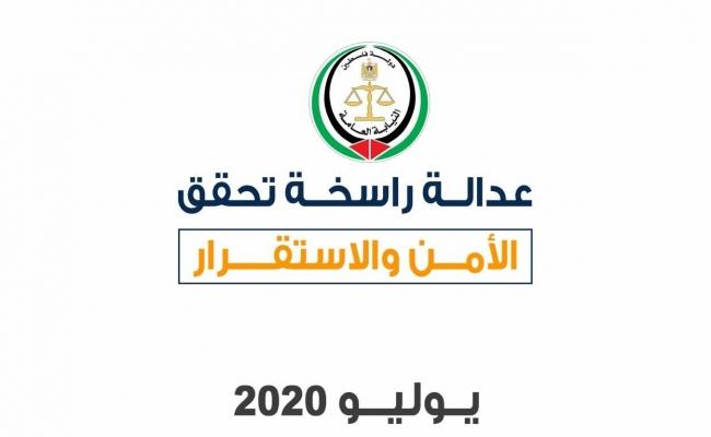 عدالة راسخة تحقق الأمن والاستقرار-يوليو 2020