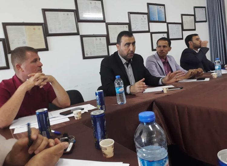 المعهد العالي للقضاء الفلسطيني  ينظم ورشة عمل بشأن إعتماد الخبراء