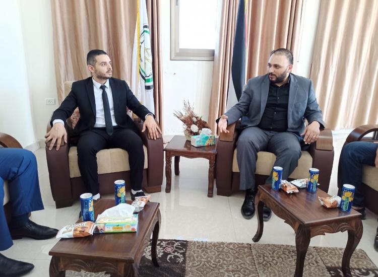 نيابة غزة الثانية ووحدة الجرائم الالكترونية يؤكدان على تطور وسائل مكافحة الجريمة تقنياًوتضافر الجهود لتحقيق الاستقرار المجتمعي