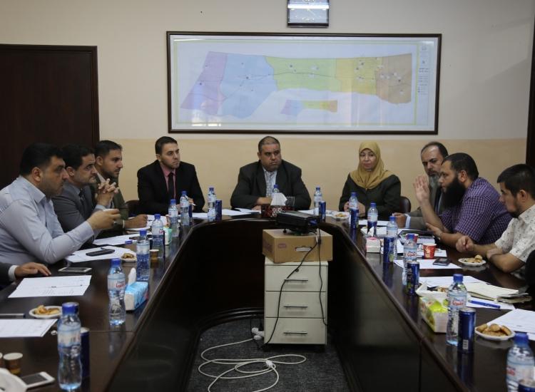 رؤساء النيابات الجزئية وممثلو وزارة العمل يناقشون القضايا المجتمعية للعمال