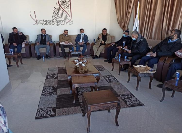 رئيس نيابة غزة ونائب شرطة المحافظة يؤكدان على جودة التحقيقات وإرساء الأمن والاستقرار المجتمعي
