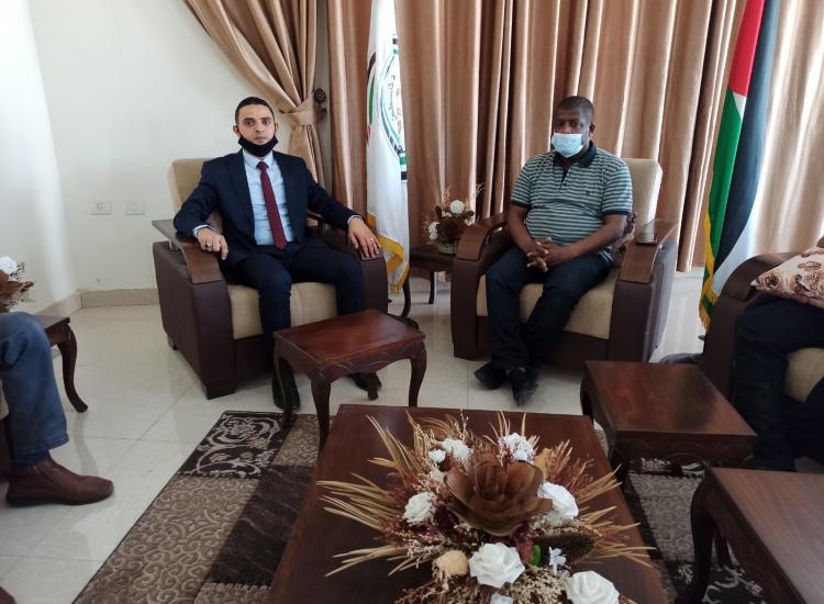 نيابة غزة  وإدارة المباحث العامة يناقشان آليات تطوير أساليب التحرّي وجمع الاستدلالات في تعقب الجريمة