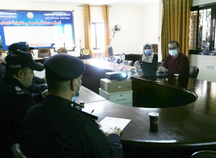 دائرة الحاسوب وإدارة شرطة المرور يؤكدان على الربط الإلكتروني وتسهيل معاملات المواطنين