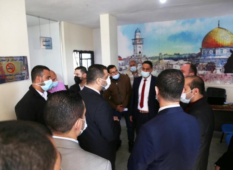 النائب العام يؤكد خلال زيارته التفقدية لنيابة الشمال على ترسيخ العدالة وإرساء سيادة القانون