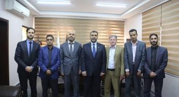خلال اجتماعه بأعضاء نيابة غزة الجزئية.