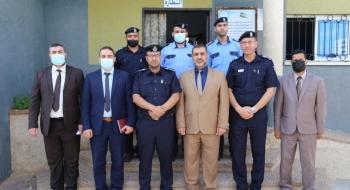 النائب العام يزور مركز شرطة غرب خانيونس، ويلتقي مدير شرطة المحافظة، ومدير المركز