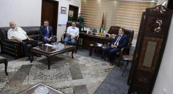 النائب العام يستقبل وفدا من الهيئة المستقلة لحقوق الانسان