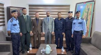 مدير نيابة شمال غزة  ومدير شرطة معسكر جباليا  يؤكدان على ترسيخ العدالة وإرساء الاستقرار المجتمعي