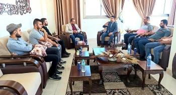 نيابة غزة الجزئية الدائرة الأولى تطلق سلسلة لقاءات تواصلية بعنوان شركاء في مسار واحد